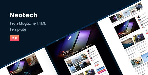 futuristic website templates from themeforest