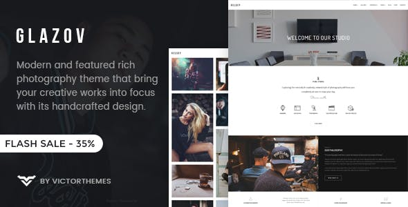 Slideshow Website Templates compatible with Visual Composer