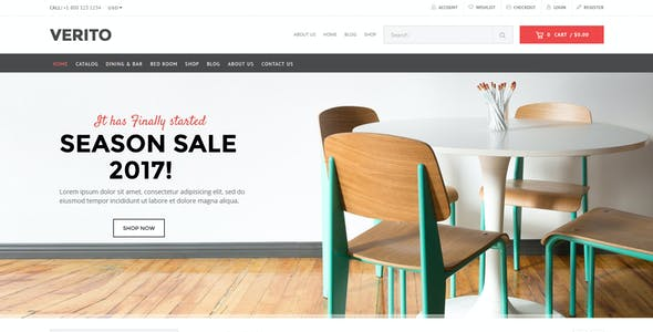 Living Room Furniture Templates From Themeforest