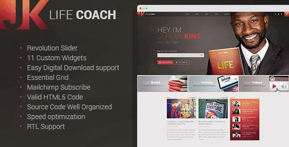 Public Speaker Website Templates From ThemeForest