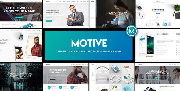 motivational theme wordpress website templates from themeforest