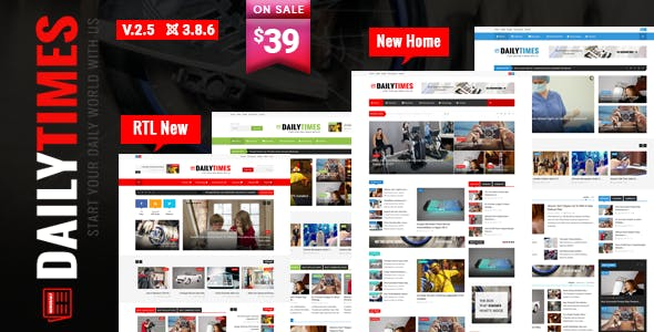 Top 10 Responsive Magazine Nulled Themes 2019 Free Download