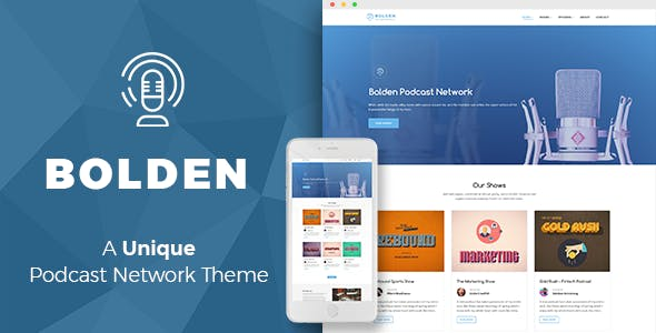 Podcast Templates From ThemeForest - Podcast website template