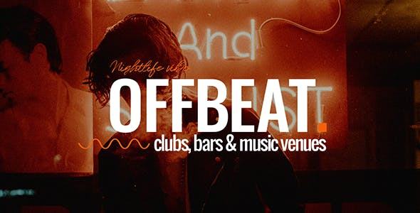 Offbeat - Nightlife, Pubs & Concerts Theme