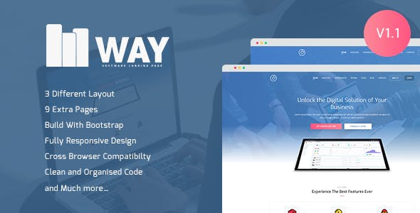 login page template website templates from themeforest