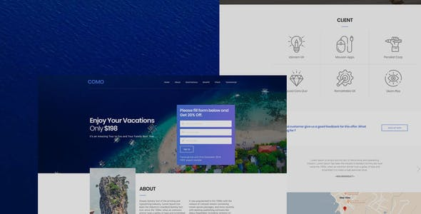 signup form templates from themeforest