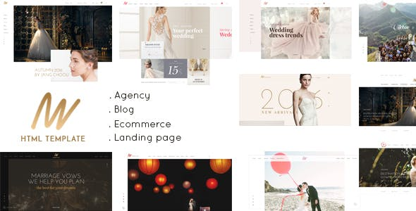 The Vow Wedding Responsive Html Template