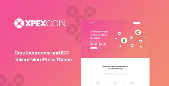 XPEXCoin - Cryptocurrency WordPress Theme by Opal_WP | ThemeForest