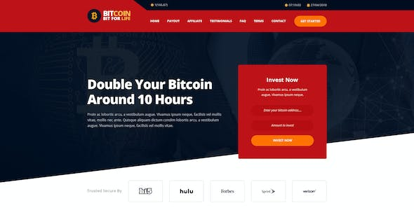 RedBux - Bitcoin Doubler HTML Templates by IdealBrothers | ThemeForest