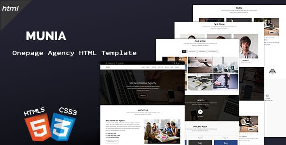 Gallery, Onepage, and Responsive HTML Website Templates