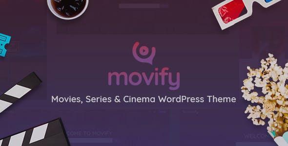 Movify – Movies and Cinema WordPress Theme