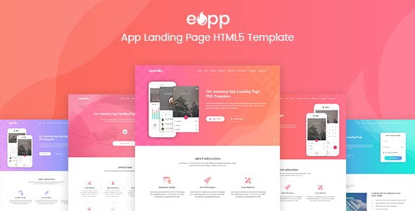 ios app template website templates from themeforest