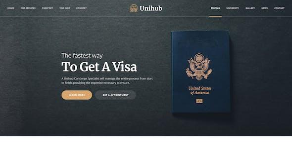 Passport Templates from ThemeForest