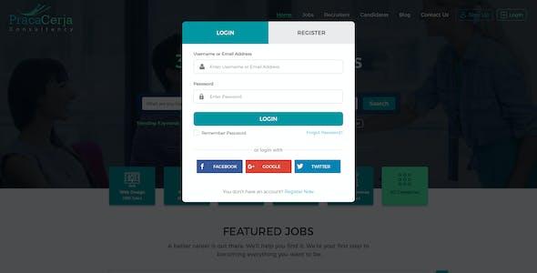 Job Career Indeed PSD Files and Photoshop Templates
