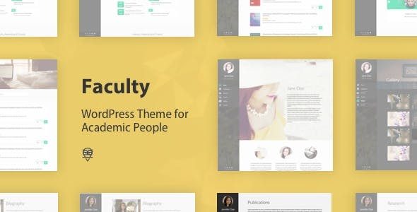 Academic Website Templates from ThemeForest