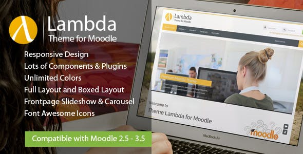 Lambda - Responsive Moodle Theme nulled theme download