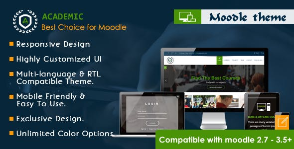 Academic - Responsive Moodle Theme nulled theme download