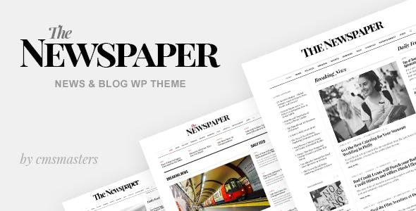 Newspaper Vintage Website Templates from ThemeForest