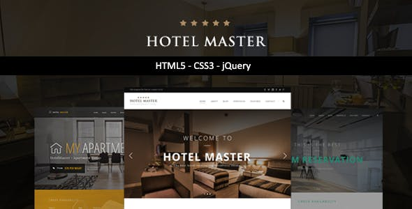 Hotel Master | Hotel HTML Template