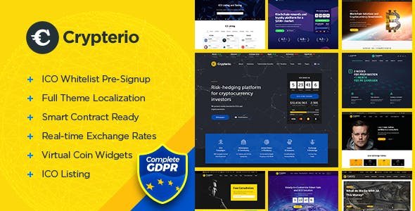 Top 10 Ico Nulled Themes 2019 Free Download