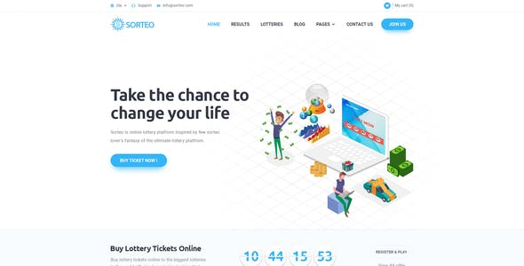 Giveaway Templates from ThemeForest