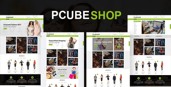 Exclusive templates from themeforest pcube shop ecommerce html5 template maxwellsz