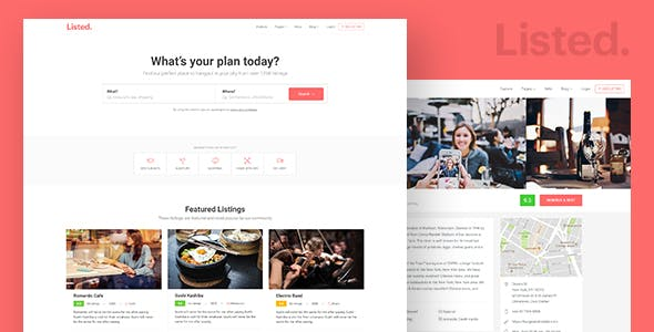 Yelp Templates from ThemeForest