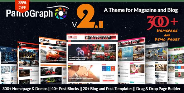 Arabic WordPress Themes from ThemeForest