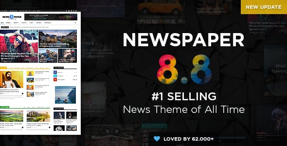 Newspaper nulled theme download