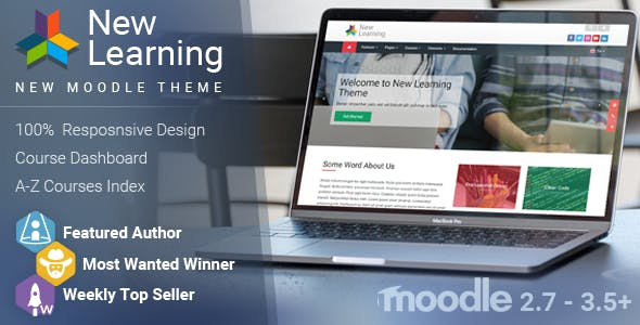 New Learning | Premium Moodle Theme nulled theme download