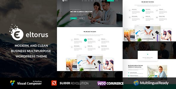 Yellow Pages Website Templates from ThemeForest
