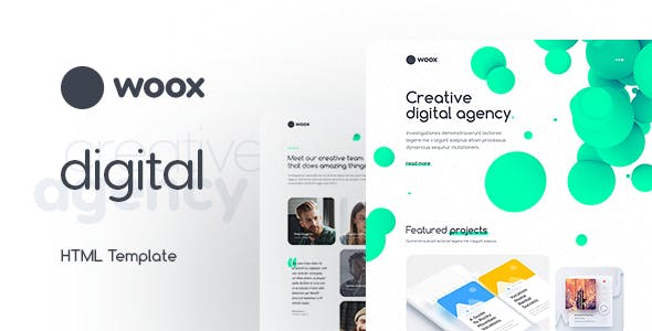 Unique Html Website Templates From Themeforest