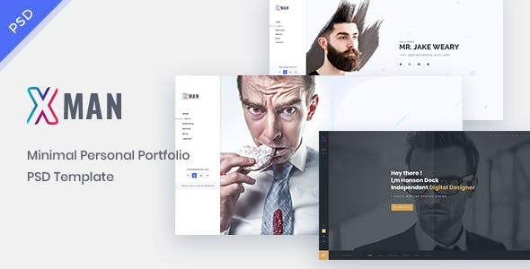Minimal PSD Files and Photoshop Templates from ThemeForest (Page 6)