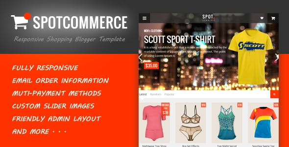 Spotcommerce Blogger Ping Template Blogging