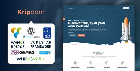 WordPress Website Host Themes from ThemeForest