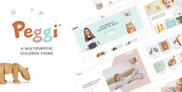 Peggi - Multipurpose Children Theme