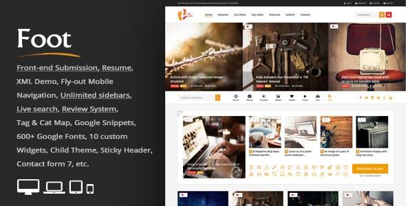 Pinterest Gallery Website Templates from ThemeForest