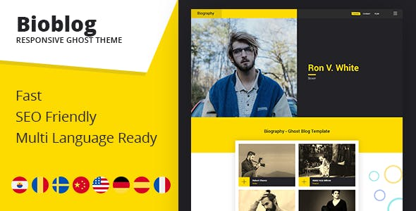 ghost Free Download | Envato Nulled Script | Themeforest and