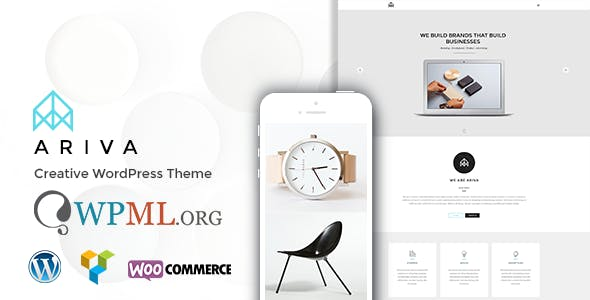 Group of companies website templates from themeforest ariva onepage for team band group company maxwellsz
