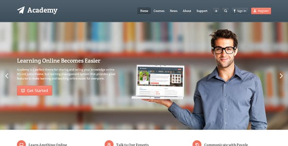 Academy Website Templates from ThemeForest
