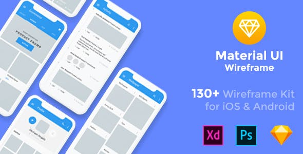 Blueprint templates from themeforest baseframe wireframe ui kit 130 sketch xd psd template malvernweather Image collections
