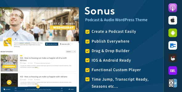 Podcast Templates from ThemeForest