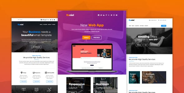 Yahoo Mail Website Templates From Themeforest Page 6
