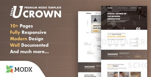 uCrown - Premium Theme For MODX nulled theme download