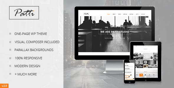 Salient Visual Composer Website Templates from ThemeForest
