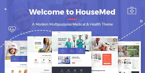 HouseMed - Multipurpose Medical and Health Theme