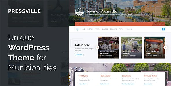 Document Management Website Templates from ThemeForest