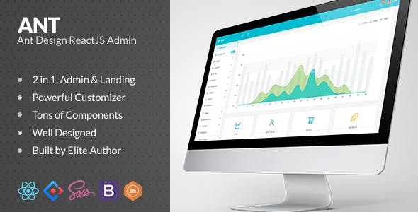 download Ant Design ReactJS Admin with Bootstrap nulled