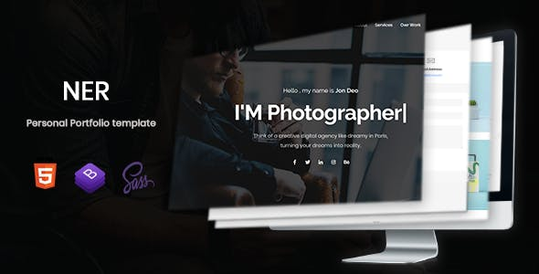 Personality Website Templates from ThemeForest