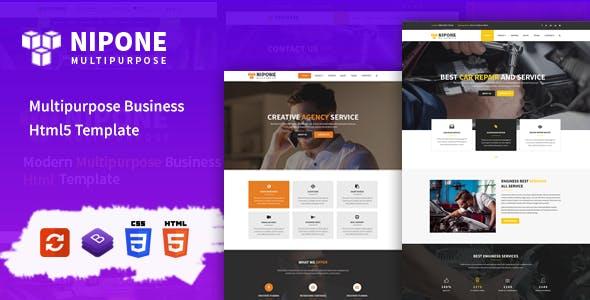Nipone Multipurpose Business HTML5 Template